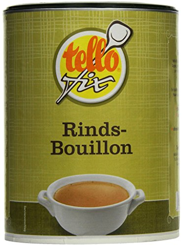 tellofix Rinds-Bouillon , 1er Pack (1 x 540 g Packung) Test