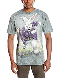 The Mountain Unisexe Adulte Lapin Blanc T Shirt