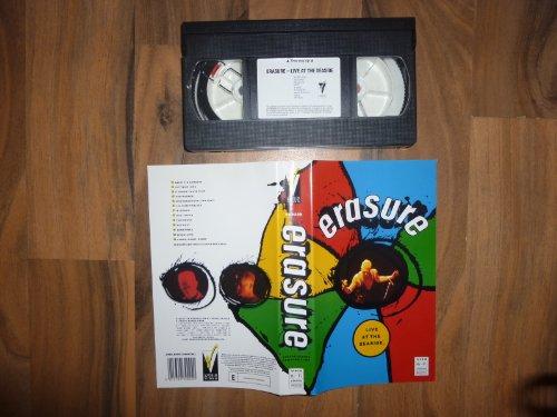 Preisvergleich Produktbild Erasure - Live at the Seaside [VHS]