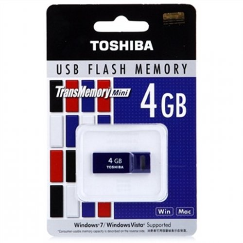 Toshiba UENS-016GE USB 3.0 4GB Pen Drive (Purple)