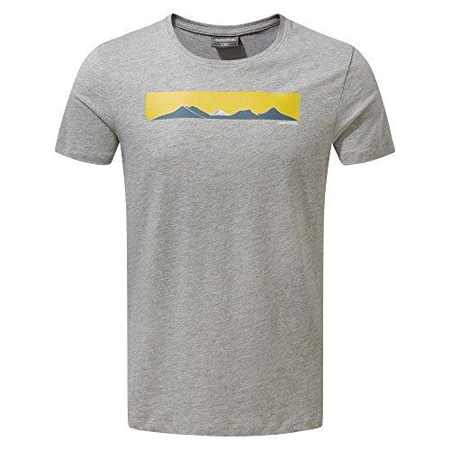 Craghoppers Herren Eastlake Short Sleeved T-Shirt Barn Rot