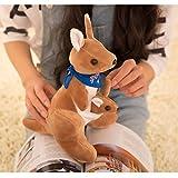 Best Kangaroo Kids Birthday Gifts - ToynJoy Cute & Winning Kangaroo with Baby Stuffed Review