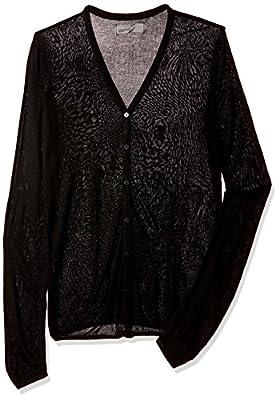 VERO MODA Women's Sports Knitwear (10176936_Black_L)