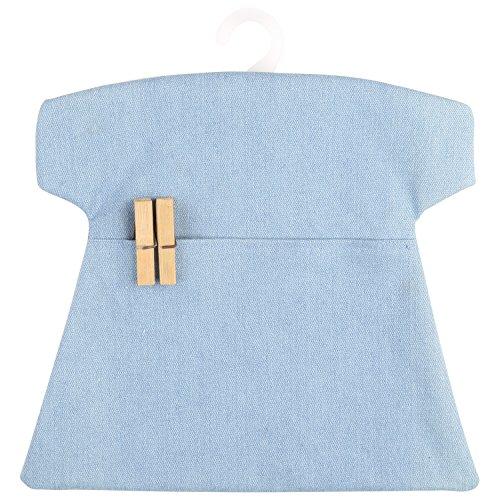 resistente-al-agua-neoviva-bolsa-de-peg-con-perchas-de-plstico-pinzas-slido-skyway-azul