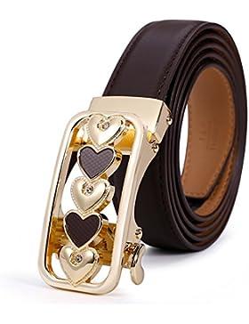 Cinturones De Moda Casual/Hebilla De Cinturón Automático Versátil Simple-B 110cm(43inch)