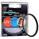 Maxsimafoto - Professional 52 mm Multi-Coated filtre UV et protection pour Panasonic Lumix FZ200 FZ300 FZ330