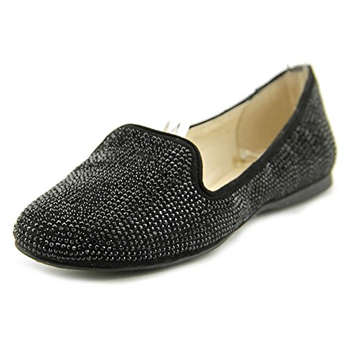 INC International Concepts Galle 12 Toile Ballerines Black Bling