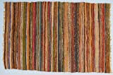 Flickenteppich 100*160 cm / Teppiche und Bodenmatten/ Variante: Farbe: gelb-bunt