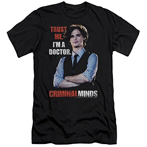 Criminal Minds FBI Drama Series Spencer Trust Me I'm A Dr. Adult Slim T-Shirt