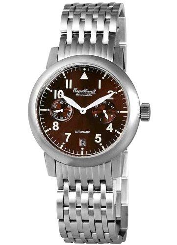 Engelhardt Men's Watch with Stainless Steel Bracelet–Brown Bracelet Watch 388927028002