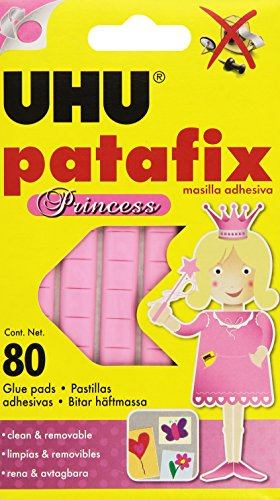 UHU Patafix Princess D1573 - Gommini adesivi per fissare