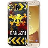 deinPhone Samsung Galaxy J7 (2017) Silikon Case Danger
