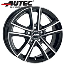 Aluminio Llanta autec Yucon Volkswagen Golf V Variant 1KM 7.5x 17negro pulido