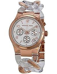 Michael Kors MK4282 - Reloj para mujeres, correa de acero inoxidable color oro rosa