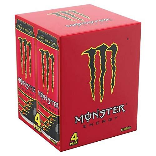 Monster Energy Lewis Hamilton 44 4 x 500ml -