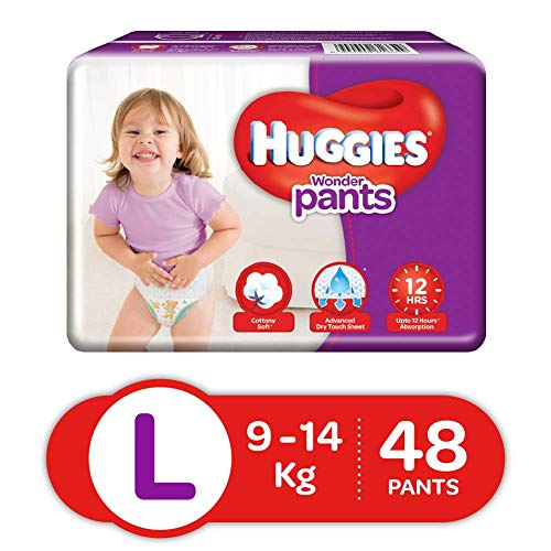 Huggies Wonder Pants Large Size Diapers (48 Count)