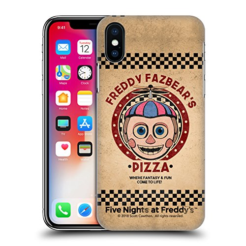 Official Five Nights At Freddy's Balloon Boy Freddy Fazbear's Pizza Hard Back Case for iPhone X