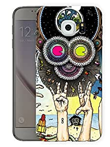 """Humor Gang Trippy Hands Funny Printed Designer Mobile Back Cover For """"Samsung Galaxy S6"""" (3D, Matte Finish, Premium Quality, Protective Snap On Slim Hard Phone Case, Multi Color)"""