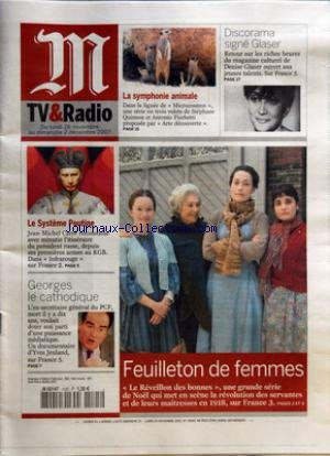 M TV ET RADIO [No 19545] du 26/11/2007 - DISCORAMA