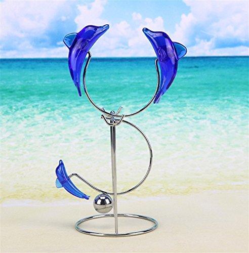 PLYY Blue Dolphin Newton Handbuch Swinger Office Home Swinger Dekoration Handwerk, 4