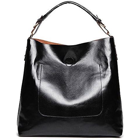 Designer borse e borsette realer Large Leather Tote Hobo Crossbody Borse in pelle per le donne