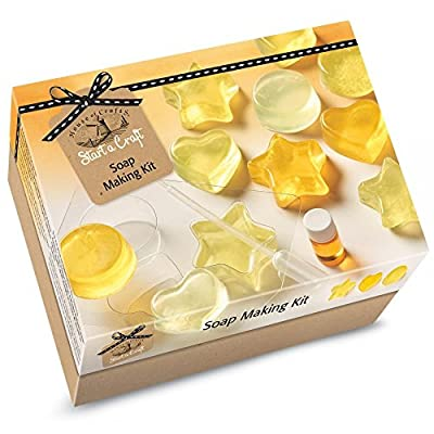 House Of Crafts Soap Making Starter Craft Kit Lemon Scented Gift Set by House of Crafts