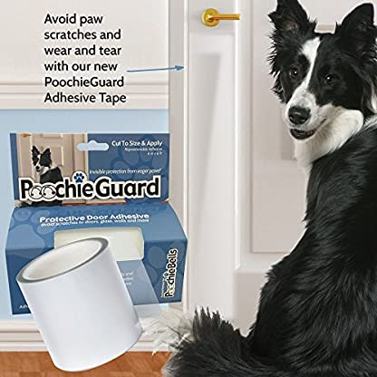 PoochieGuard Invisible Lightweight Protective Clear Film for Your Home's Doors, Windows and More; Protect Your Home From… 3