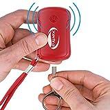Xerfira Personenalarm, Schlüsselanhänger und Taschenlampe mit 120db Sirene - 5