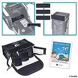 Reisesicherheits-Pack für DJI Mavic Air - Für 3 Akkus - Beinhaltet: LiPo-Sicherheitstasche, 3x Akku-Deckel, 1x Ladeanschluss-Abdeckung und Reise-Anweisungen - Ideales Schutz-Set für Flugreisen