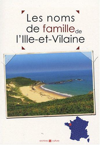 Les noms de famille de l'Ille-et-Vilaine