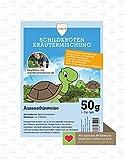 Linsor Schildkröten Kräutermischung 50g - Schildkröten Samen, Schildkröten Saatgut, Schildkrötenwiese, Kräuterwiese,...