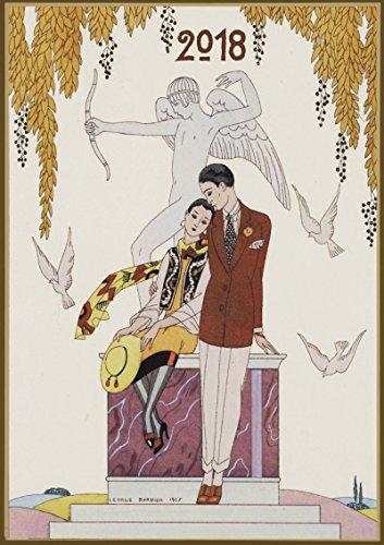 Wall Calendar 2018 [12 pages 20x30cm] George Barbier Art Deco Vintage La Vie Parisienne Magazine [Calendar] [Jan 01, 2017] Pixiluv par Pixiluv