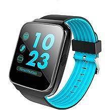 XHZNDZ Reloj inteligente Bluetooth con pantalla táctil de la cámara Reloj desbloqueado Smartwatch Reloj de pulsera
