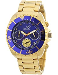 Ingraham Herren-Armbanduhr XL Syracuse Chronograph Quarz Edelstahl beschichtet IG SYRA.1.612255D
