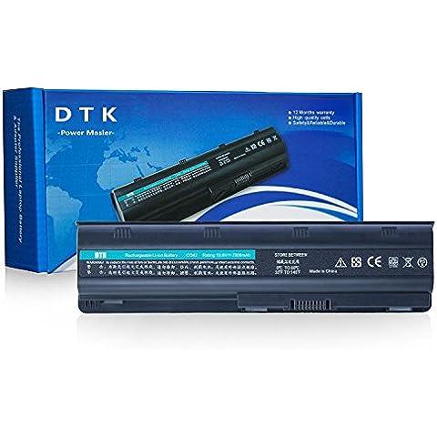 Dtk® Batería de repuesto para portátil Hp G32 G42 G42t G56 G62 G72 G4 G6 G6t G7 ; Compaq Presario Cq32 Cq42 Cq43 Cq430 Cq56 Cq62 Cq630 Cq72 ; Envy 15 , Envy17 ; Hp Pavilion Dm4 Dv3-4000 Dv5-2000 Dv6-3000 Dv6-6000 Dv7-4000 Dv7-6000 Series; 2000 430 431 435 436 630 631 635 636 Notebook Pc Fits Mu06 Mu09 593553-001 593554-001 Wd548aa Wd549aa Wd548aa 636631-001 593550-001 Notebook Battery [10.8v 7800mah
