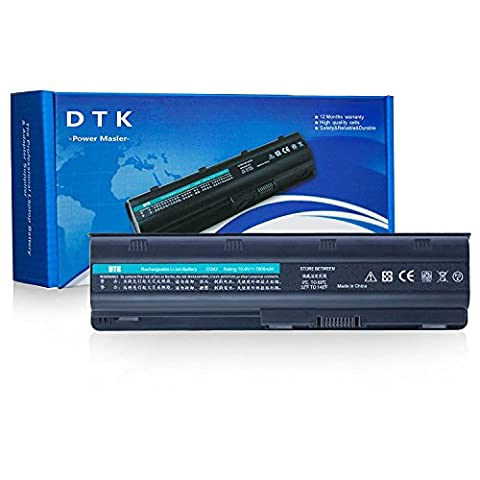 Dtk® Batterie haute Performance pour ordinateur portable Hp G32 G42 G42t G56 G62 G72 G4 G6 G6t G7 ;Compaq Presario Cq32 Cq42 Cq43 Cq430 Cq56 Cq62 Cq630 Cq72 ; Hp Pavilion Dm4 Dv3-4000 Dv5-2000 Dv6-3000 Dv6-6000 Dv7-4000 Dv7-6000 Series; 2000 430 431 435 436 630 631 635 636 Notebook Pc Fits Mu06 Mu09 593553-001 593554-001 Wd548aa Wd549aa Wd548aa Hstnn-lb0w 636631-001 593550-001 -Upgraded with Higher Quality Samsung Cells Notebook Battery-12 mois de garantie [10.8v 6600mah 9-cell]