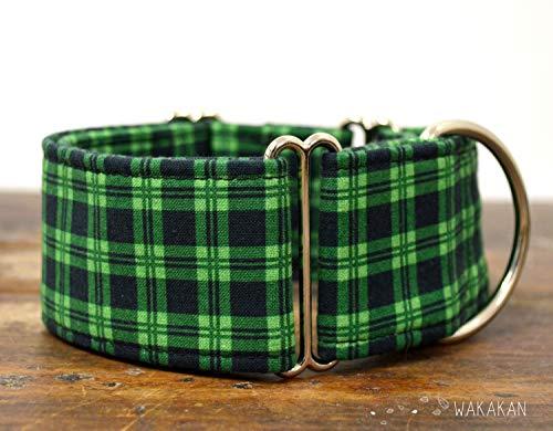 Collare-per-cani-martingale-St-Patricks-fatto-a-mano-in-Spagna-da-Wakakn