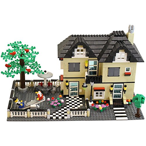 DimpleChild-MiniBricks-Toy-Villa-Family-House-Set-816-Piece