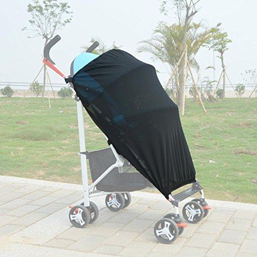 Zhiyi Universal Baby Sonnensegel, Sonnenschutz & Insektenschutz für Joie Litetrax 4 Sportwagen Buggy