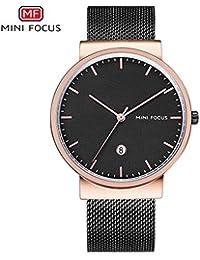 Mini Focus/Relojes de Moda de los Hombres de Moda Reloj de Cuarzo Dial Reloj