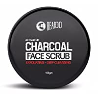 Beardo Activated Charcoal Face Scrub 100g