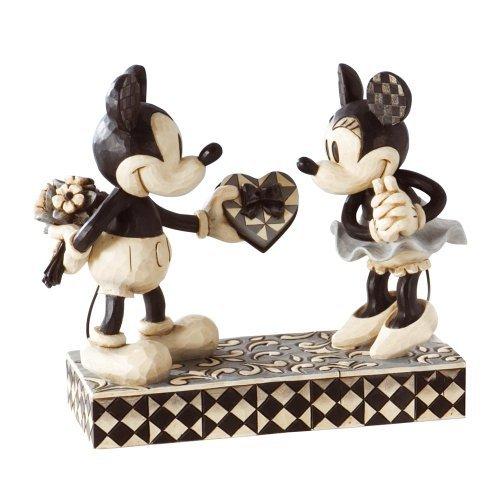 Disney Traditions de Jim Shore figura decorativa de Mickey y Minnie Mouse Real Novia (4009260) por Enesco