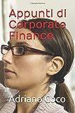 Appunti di Corporate Finance