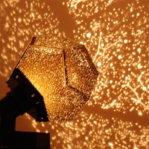 MOQJ Wissenschaft Stern Projektor Lampe 12 Sternbild Sterne Licht Projektor Projektor kreative...