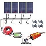 GIARIDE 1 Par 6M 6mm2 MC4 Extensión Cable Conectores 10AWG PV Cable Kit Adaptador para Panel Solar Sistemas Energía (precio: 34,99€)