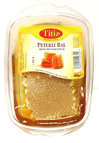 Bienen Natur Wabenhonig Waben Honig aus der Türkei 400g - Petekli Bal - Honeycomb