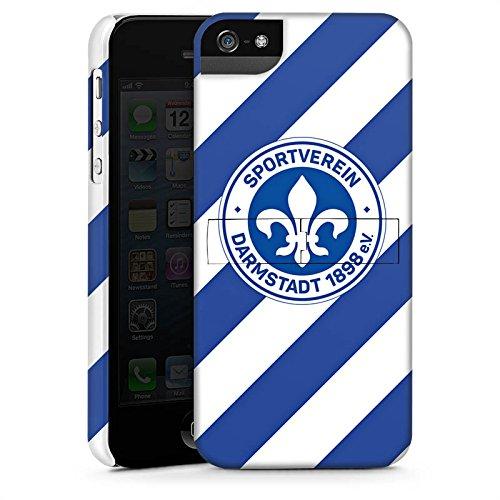 Apple iPhone X Silikon Hülle Case Schutzhülle Bundesliga Fußball Darmstadt98 Premium Case StandUp