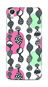 Amez designer printed 3d premium high quality back case cover for HTC Desire 626 LTE (Pattern2)