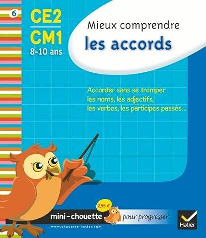 Collection Chouette: Mieux Comprendre Les Accords Ce2-Cm1 (8/10