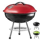 Goods & Gadgets Micro BBQ Barbecue Compact Barbecue au Charbon de Bois Barbecue de Table de Voyage...
